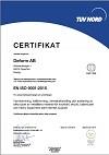 SS EN ISO 9001 : 2015